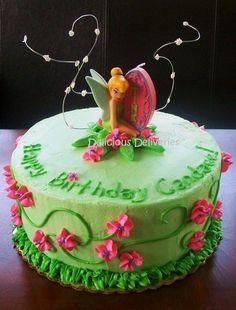 Idea- Trinity 3rd bday Tinkerbell Cake