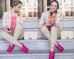 Inkkas Aztec Sneakers, Romwe Bag, Love Top, Miss Nabi Jacket, Etsy Iphone Case