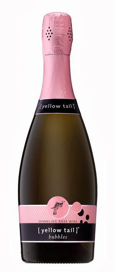 Yellow Tail Pink Bubbles-Australian