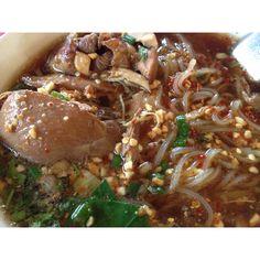 Chicken thai noodle soup