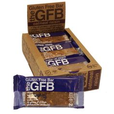 $35 Oatmeal Raisin Gluten-Free Protein Bar - 12 Pack (2.05 oz ea)