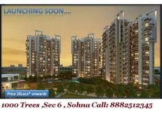 1000 Trees Coming Soon In Sector 6 sohna ,Gurgaon by Mnc Propmart via slideshare
