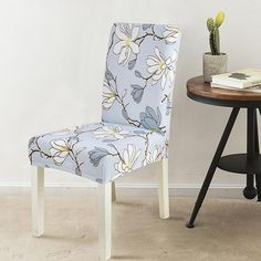 Chair Covers Pastoral Stretchable Spandex Elastic Products Spandex Chair Covers Chair Chair Covers