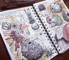Kunstjournal Inspiration, Sketchbook Inspiration, Sketchbook Ideas, Artist Research Page, Gcse Art Sketchbook, A Level Textiles Sketchbook, A Level Art Sketchbook Layout, Sketching, Art Alevel