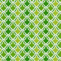 On Display Kiwi Green Geometric Cotton Print Drapery Fabric by Waverly