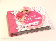 Mad Scrap Project: Tutorial mini-álbum con sobres y tarjetas project life