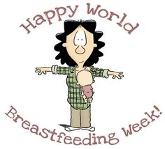So hilarious! World Breastfeeding Week Salute. A tribute to breastfeeding mamma's - that any woman who has been there will understand!