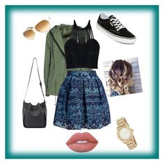 """""""California girls"""" by ella-rharper on Polyvore featuring Mr & Mrs Italy, Vans, Tom Ford, DKNY, Lime Crime, Posh Girl and Maje"""