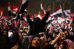 Golpe de estado en Egipto.