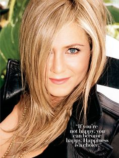 I agree Jen Jen...happiness is a choice - and happinesss sure looks good on you Jen!