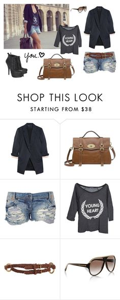 """classic"" by anaclaranunes ❤ liked on Polyvore featuring Elizabeth and James, Mulberry, Soul Cal, Wildfox, Ralph Lauren, Balenciaga and boho"
