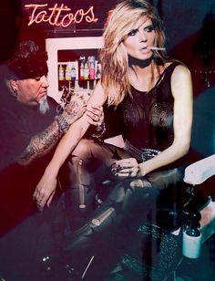 Heidi Klum for Hunger Magazine