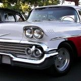 Chevrolet cars classic vehicles white cars, classic, vehicles, white) via www. Free Desktop Wallpaper, Car Wallpapers, Wallpaper Downloads, Car Chevrolet, Chevy Impala, American Muscle Cars, Sport Cars, Custom Cars, Concept Cars