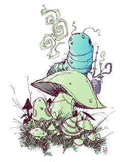 Caterpillar by *skottieyoung on deviantART