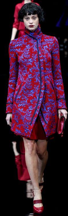 www.2locos.com Emporio Armani Collections Fall Winter 2015-16 collection