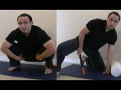 ▶ How to Squat Deep Squatting and Kicking Help For Adductors With Massage Release - YouTube