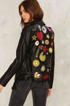 Invasion of the Body Patchers Moto Jacket | Shop Clothes at Nasty Gal!