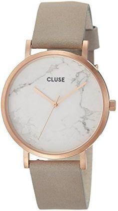 Cluse Montre Mixte Adulte Digitale Quartz avec Bracelet en Cuir - CL40005   Cluse  Amazon.fr  Montres f1be40e0833