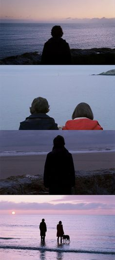 Submarine (2011) -- similar to the effect in The Graduate, this film contrasts the individual in the frame alone vís-a-vís with the love interest; often created by same or similar shot, once alone, again with love interest, a third time alone.