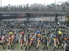 Bikes at Amsterdam