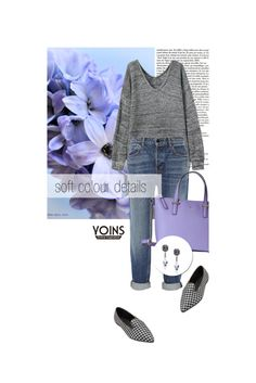 """Soft colour details"" by merima-kopic ❤ liked on Polyvore featuring Alexander Wang, Kate Spade and yoins"