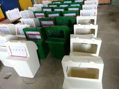 Jasa  produksi  Tempat Sampah Fiber . Ukuran,  Desain , Warna   serta   kapasitas  dapat disesuaikan dengan kebutuhan anda.  Bahan  yang kami gunakan  ialah  komposite FRP / Fiberglass . 0881 2077 120 WA