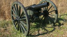 Wiard Rifle. not weird.  This is a 6-pdr; primarily used in the Western Theater of the Civil War.