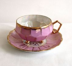 it would be tea time all the time with this sweet little cup and saucer