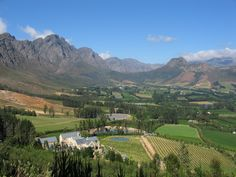 Places to visit and eat at on a road trip in the Cape Winelands of South Africa, passing towns such as Stellenbosch and Franschhoek. Great Places, Beautiful Places, Provinces Of South Africa, South African Wine, Cape Town South Africa, Africa Travel, Scenery, Places To Visit, Around The Worlds