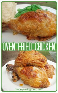 "In the past, I have been lead astray by many ""healthy"" fried chicken recipes. Most use bread crumbs and egg to try and duplicate the most de..."