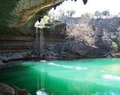 Hamilton Pool, near austin, texas