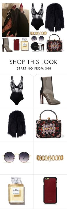 """""""#203"""" by twinklelady ❤ liked on Polyvore featuring La Perla, adidas, Alexander McQueen, Chanel, Spitfire, Erickson Beamon and Vianel"""