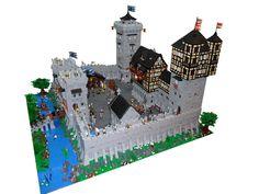 First Castle MOC: Burg Stolzenstein Lego