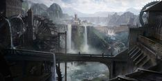 ArtStation - Water Mill View, Daniel Kyle