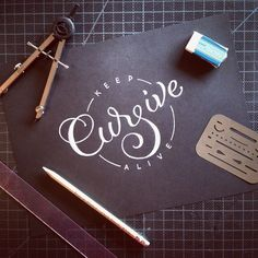 Keep Cursive Alive! #aptbcollective @chinoooooooo
