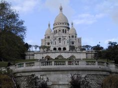 Le Sacre Couer, Paris. The highest point in the city. Climbing to the top is breath taking.
