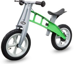 FirstBike gives children a head start. Experts agree that through the development of balance, gross motor skills and a sense of independence, children are given the confidence they need for further success, both socially and in the classroom.