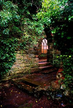 Entry, Ruthin Castle, Great Britain