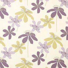 John Lewis Passion Flower Fabric Online at johnlewis.com