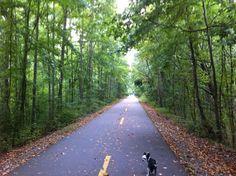 Silver Comet Trail in Smyrna, Georgia
