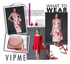 """VIPME - 10 % OFF! From March 21 to April 20 !"" by passionforstyleandfashion ❤ liked on Polyvore featuring Valentino and vipme"