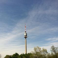 sunny day danube tower vienna Cn Tower, Vienna, Sunny Days, Places Ive Been, Faces, Building, Pictures, Travel, Photos