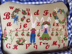 Mr. Mrs. Rabbit From Lilli Violette - Cross Stitch Charts - Cross Stitch Charts - Casa Cenina