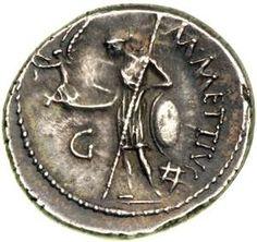 Julius Caesar Denarius.
