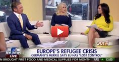"""VIDEO: Andrea Tantaros Tears Geraldo Rivera Apart for MORONIC Comment on Obama's """"Refugees"""""""