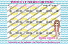 1' Bottle caps (4x6) digital editable BCI-1086   PLEASE VISIT http://craftinheavenboutique.com/AND USE COUPON CODE thankyou25 FOR 25% OFF YOUR FIRST ORDER OVER $10! #bottlecap #BCI #shrinkydinkimages #bowcenters #hairbows #bowmaking #ironon #printables #printyourself #digitaltransfer #doityourself #transfer #ribbongraphics #ribbon #shirtprint #tshirt #digitalart #diy #digital #graphicdesign please purchase via link http://craftinheavenboutique.com