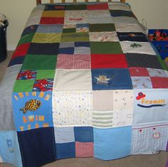 memory quilt ideas - Google Search