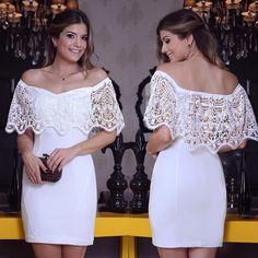 """""""{White Mood} Vestido @karmanioficial ❤️ Mais uma inspiração pro final de ano! Que tal??  • #finaldeano #parainspirar #reveillon16 #blogtrendalert"""""""