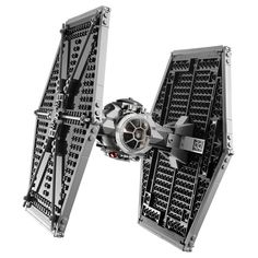 I've seen several versions of the LEGO Star Wars TIE Fighter, but this one looks the best. The detailing just seems extra accurate on this one. Lego Tie Fighter, Fighter Pilot, Star Wars Set, Lego Star Wars, Star Troopers, Imperial Officer, Star Wars Vehicles, Adventure Movies, A New Hope