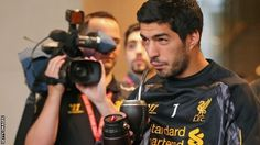 Liverpool striker Luis Suarez wants to hold talks with Arsenal over a potential move to the London club. Suarez believes Arsenal's offer of just over - which was rejected - triggered a clause in his contract that allows him to speak to suitors. Premier League Tickets, Brendan Rodgers, Football Ticket, Most Popular Sports, London Clubs, Soccer Fans, World Of Sports, Arsenal, Fifa